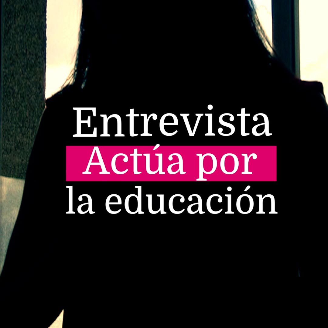 Actúa por la Educación
