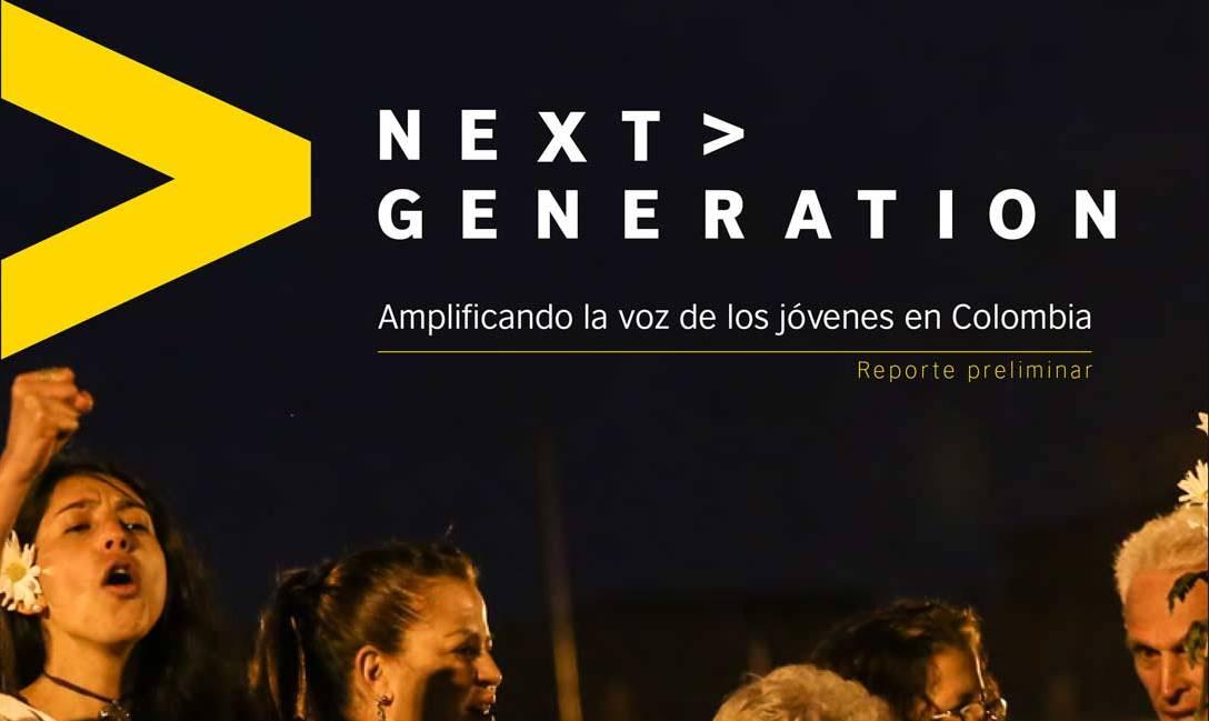 Next Generation. Amplificando la voz de los jóvenes en Colombia