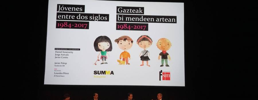 Presentamos en San Sebastián: Jóvenes Españoles entre dos siglos 1984-2017