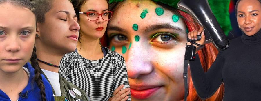 Joven y mujer. Nuevos rostros en la vanguardia de la movilización social